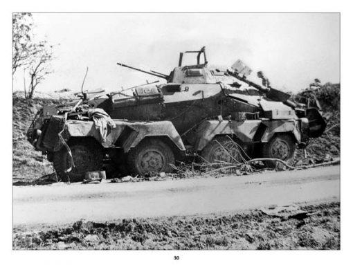 Panzerwrecks 8: Normandy 1 - WW2 Panzer book. Sd.Kfz 232