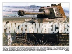 Panzerwrecks 12 - WW2 Panzer book. Tiger II tank