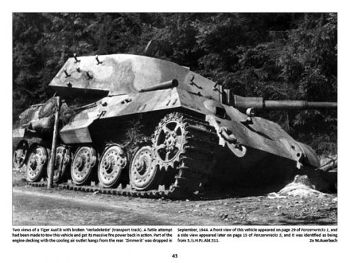 Panzerwrecks 15 - WW2 Panzer book. Tiger tank. Liberation of Paris