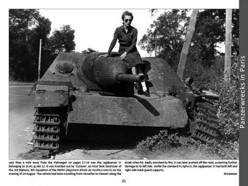 Panzerwrecks 15 - WW2 Panzer book.Jagdpanzer IV. Liberation of Paris