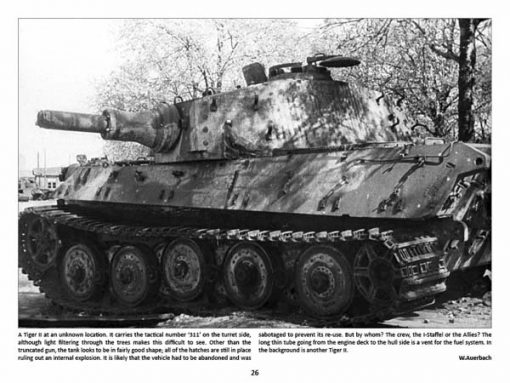 Panzerwrecks 6 - WW2 Panzer book. Tiger II tank