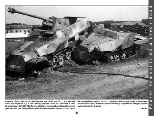 Panzerwrecks 6 - WW2 Panzer book. Sd.Kfz 251/22