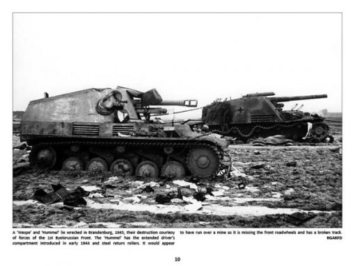 Panzerwrecks 7: Ostfront - WW2 Panzer book. Wespe