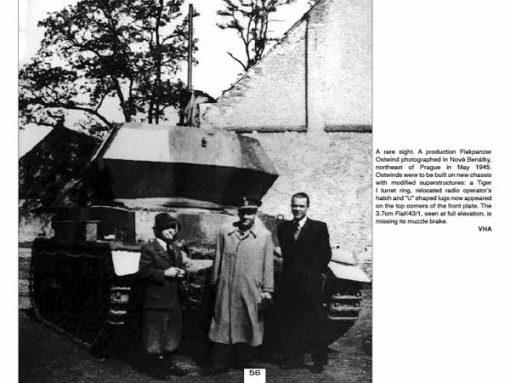 Panzerwrecks 2 - WW2 Panzer book. Flakpanzer IV Ostwind