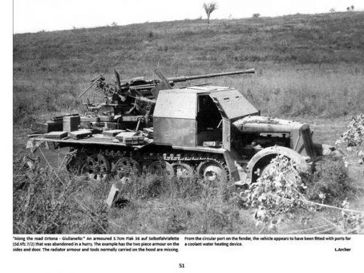 Panzerwrecks 13: Italy 2 - WW2 Panzer book. Sd.Kfz 7/2