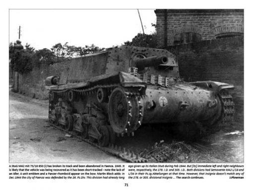 Panzerwrecks 13: Italy 2 - WW2 Panzer book. Semovente