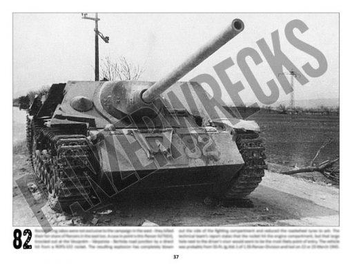 Panzerwrecks 20: Ostfront 3 - WW2 Lake Balaton Panzer wrecks book. Jagdpanzer