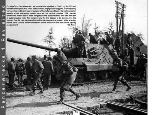 Panzerwrecks 5 - WW2 Panzer book. Jagdtiger