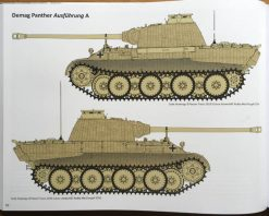 Panther - External Appearance & Design Changes. Panther tank book