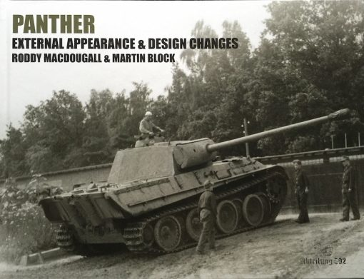 Panther - External Appearance & Design Changes - WW2 Panther book