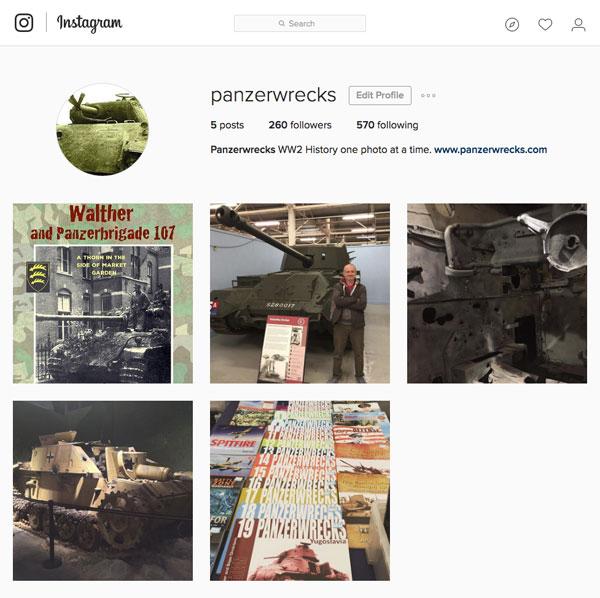 Panzerwrecks Instagram