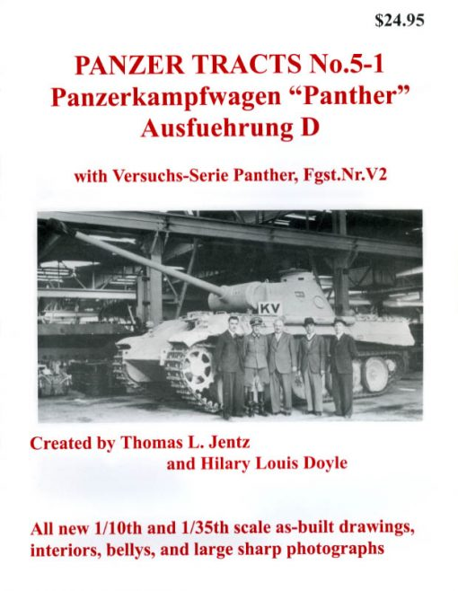 Panzer Tracts No.5-1 - Panther Ausf.D