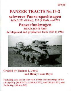 Panzer Tracts No. 13-2 - schwerer Panzerspähwagen Sd.Kfz.231