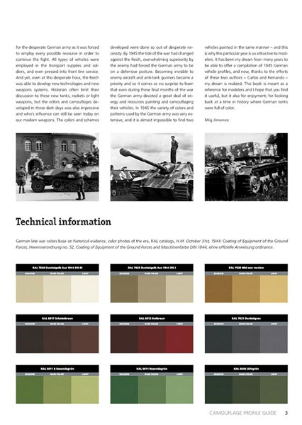 1945 German Colors Book by AK-Interactive