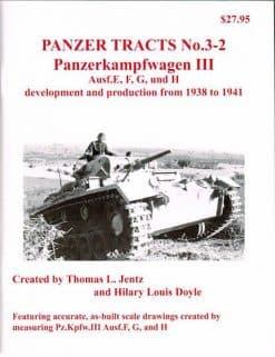 Panzer Tracts No. 3-2 Panzerkampfwagen III