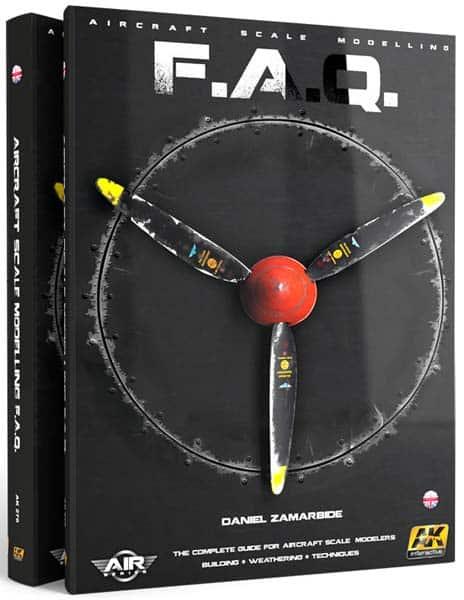 Aircraft Scale Modelling FAQ book by Daniel Zamarbide. AK 276