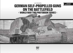German self-propelled guns on the battlefield