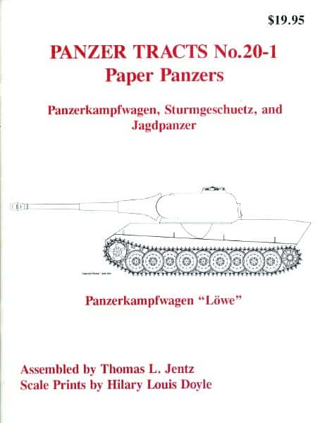 Panzer Tracts No.20-1 - Paper Panzers