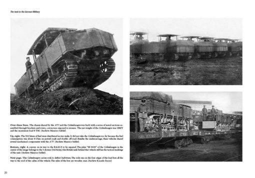 Deutsche Panzer: German Tanks in World War I (1917-1918) ABT 720
