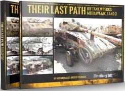 Their Last Path-IDF Tank Wrecks-Merkava Mk1&2-ABT 606