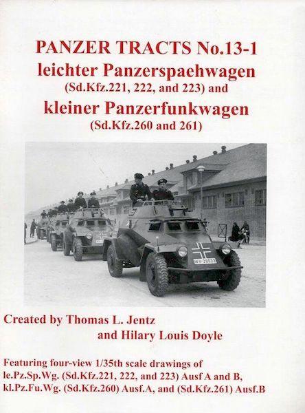 Panzer Tracts No.13-1 - leichter Panzerspähwagen