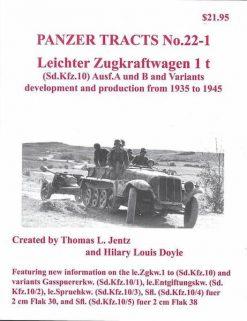 Panzer Tracts No.22-1 - Leichter Zugkraftwagen 1t