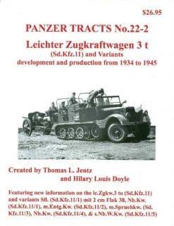 Panzer Tracts No.22-2 - Leichter Zugkraftwagen 3t