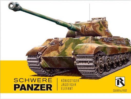 Schwere Panzer: Königstiger, Jagdtiger, Elefant