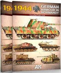 1944 German Armour in Normandy - Camouflage Profile Guide