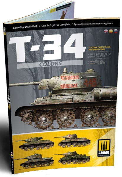 T-34 Colors: T-34 Tank Camouflage Patterns in WWII - MIG6145