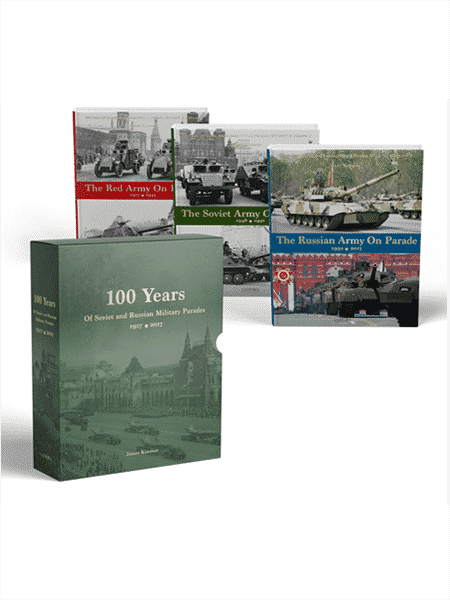 100 Years of Soviet and Russian Parades - Box set